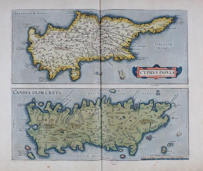 Theatrum Orbis Terrarum - Cyprus Insula (1570)