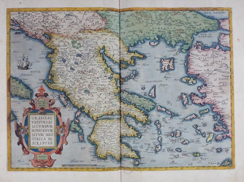 Theatrum Orbis Terrarum - Graeciae Universae (1570)