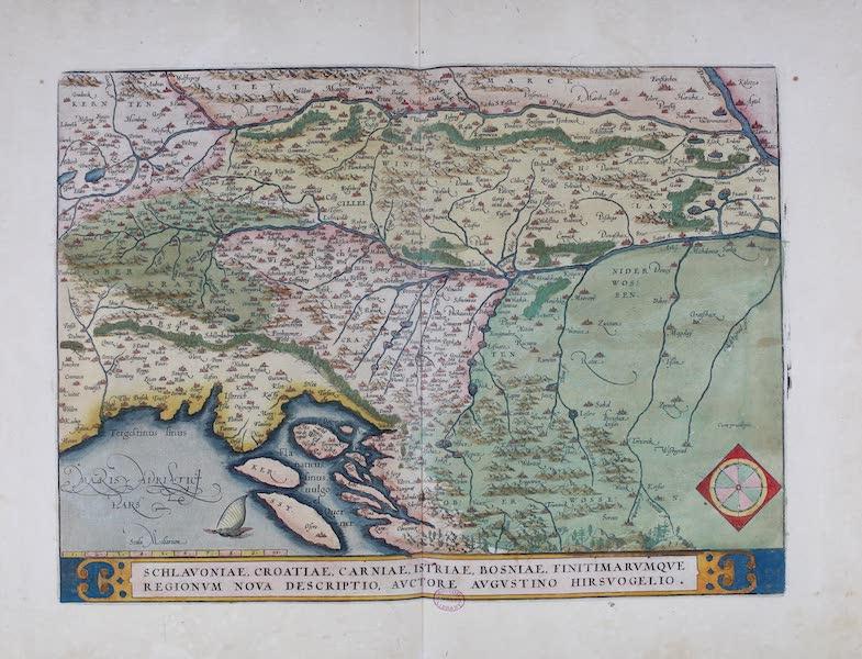 Theatrum Orbis Terrarum - Schlavoniae, Croatiae, Carniae, Istriae, Bosniae, Finitimarumque Regionum Nova Descriptio (1570)