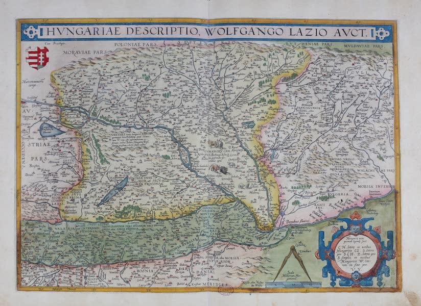 Theatrum Orbis Terrarum - Hungariae Descriptio Wolfgang Lazio Auct. (1570)