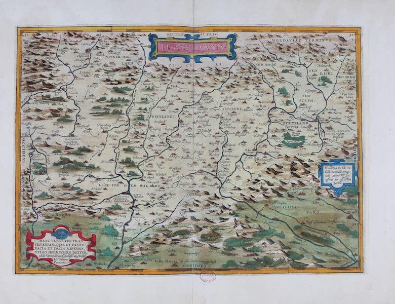 Theatrum Orbis Terrarum - Transilvania (1570)