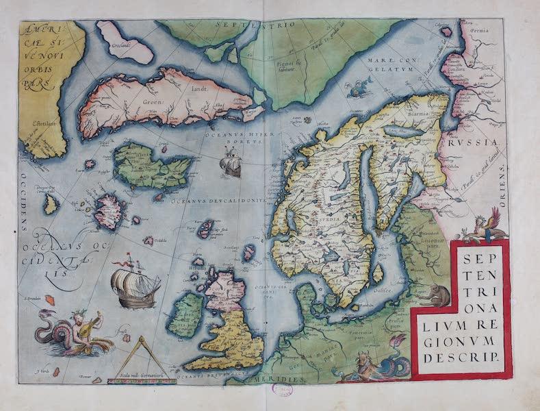 Theatrum Orbis Terrarum - Septentrionalium Regionum Descrip (1570)