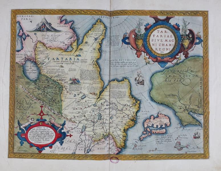Theatrum Orbis Terrarum - Tartariae Sive Magni Chami Regni (1570)