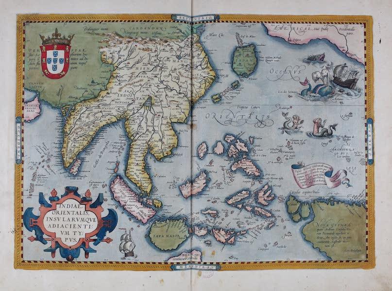 Theatrum Orbis Terrarum - Indiae Orientalis Insularumque Adiacientium Typus (1570)