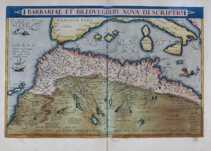 Theatrum Orbis Terrarum - Barbariae et Biledvlgerid Nova Descriptio (1570)