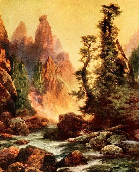 Three Wonderlands of the American West - Tower Creek, Yellowstone Park (1912)