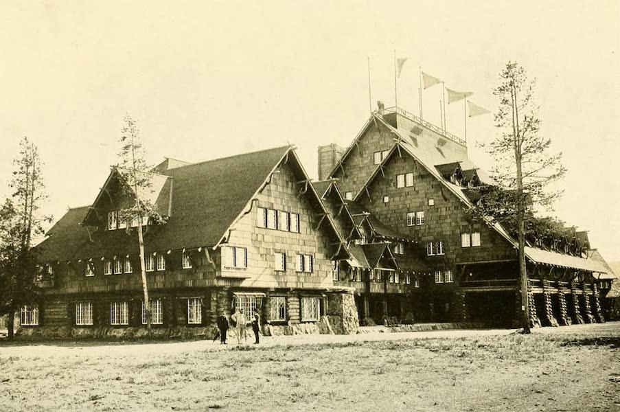 Three Wonderlands of the American West - Old Faithful Inn, Yellowstone Park (1912)