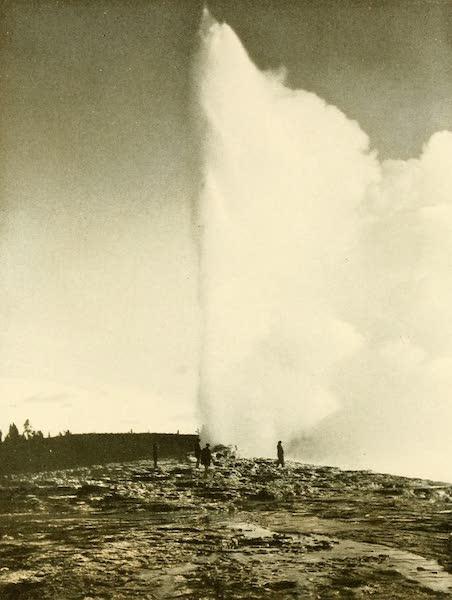 Three Wonderlands of the American West - Old Faithful Geyser, Yellowstone Park (1912)