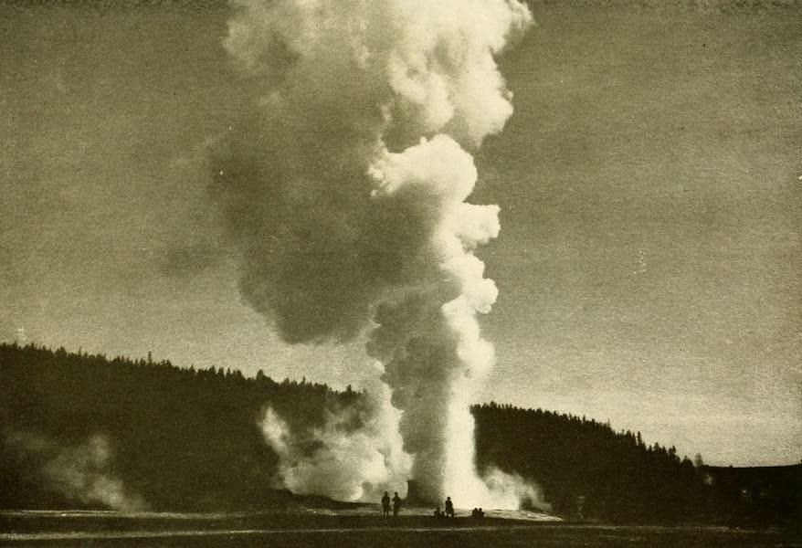 Three Wonderlands of the American West - Giant Geyser, Yellowstone Park (1912)