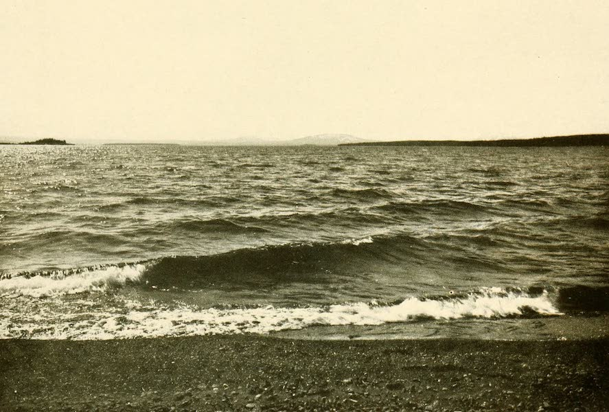 Three Wonderlands of the American West - Yellowstone Lake from Colonial Hotel, Yellowstone Park (1912)
