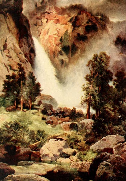 Three Wonderlands of the American West - Cascade Falls, Yosemite Park (1912)