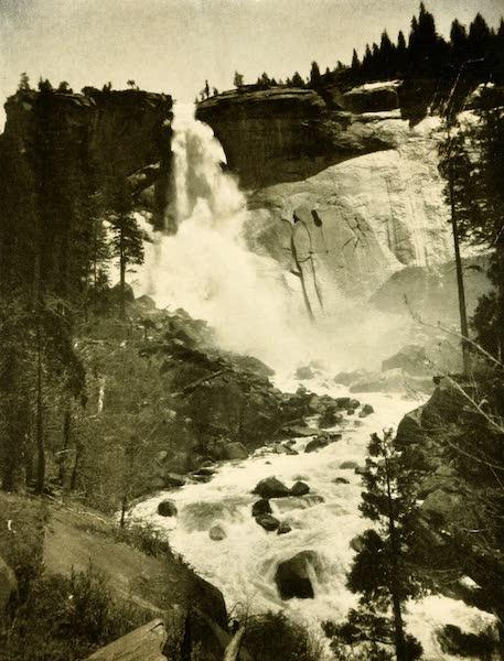 Three Wonderlands of the American West - Nevada Falls, Yosemite Valley (1912)