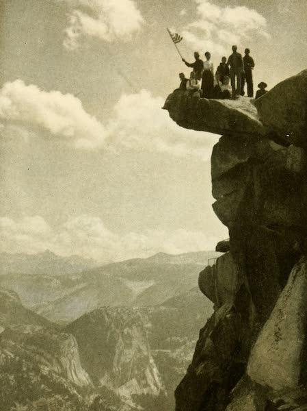 Three Wonderlands of the American West - Overhanging Rock, Yosemite Valley (1912)