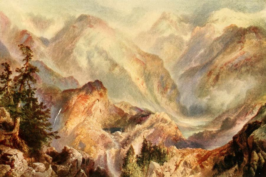 Three Wonderlands of the American West - Morning in the High Sierras (1912)