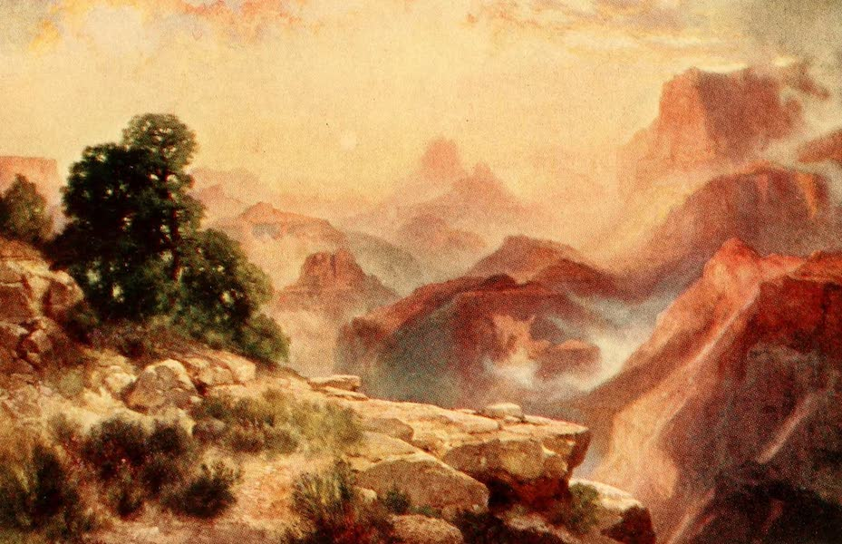 Three Wonderlands of the American West - Morning, Grand Canyon (1912)