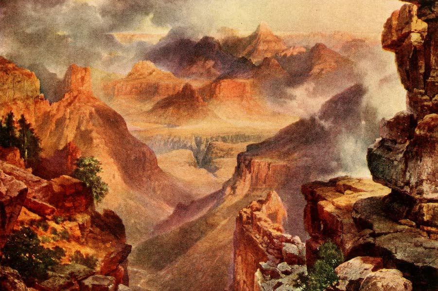 Three Wonderlands of the American West - A Glimpse of the Grand Canyon (1912)