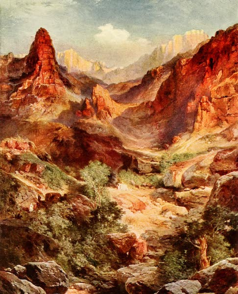 Three Wonderlands of the American West - Bright Angel Trail, Grand Canyon (1912)