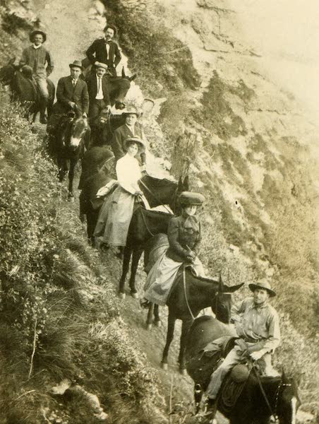 Three Wonderlands of the American West - A Bright Angel Trail Party - Grand Canyon (1912)