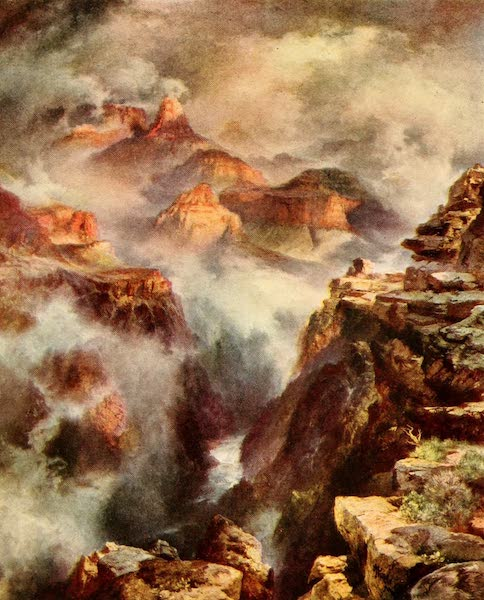 Three Wonderlands of the American West - The Inner Gorge, Grand Canyon (1912)