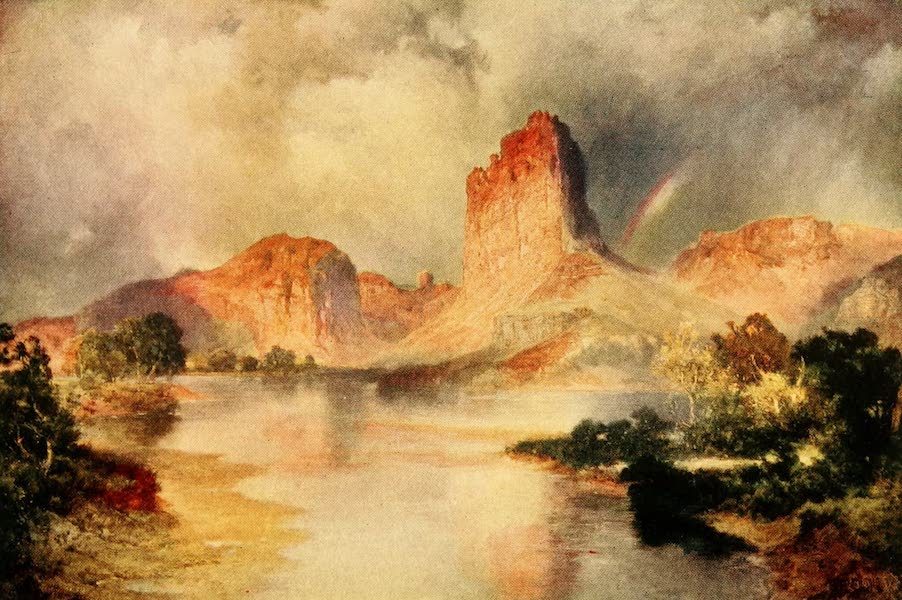 Three Wonderlands of the American West - Cliffs of Green River, Utah (1912)