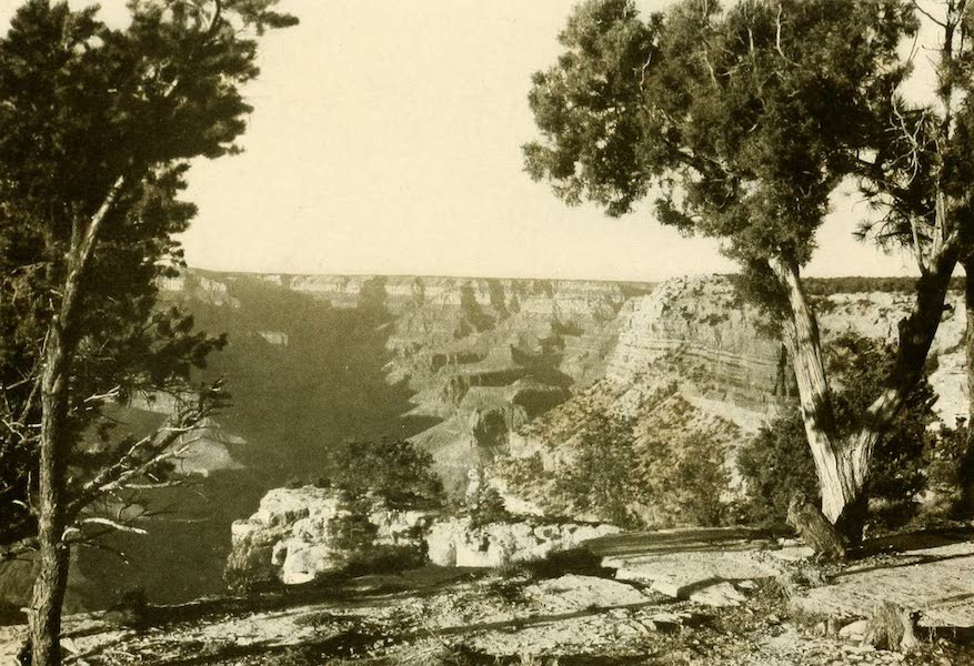 Three Wonderlands of the American West - Looking North from Grand View Point, Grand Canyon (1912)
