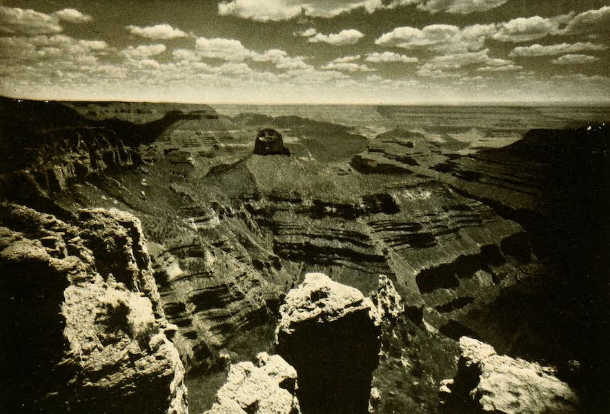 Three Wonderlands of the American West - Sunset, Grand Canyon (1912)