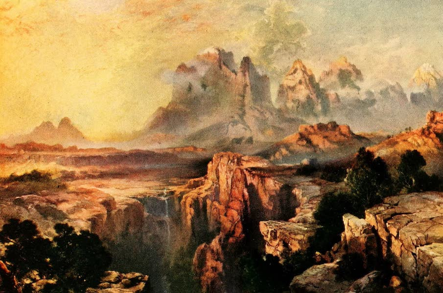 Three Wonderlands of the American West - Rock Towers of the Rio Virgin, Grand Canyon (1912)