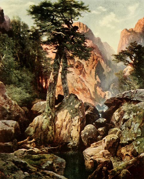 Three Wonderlands of the American West - Tolte Gorge, Colorado (1912)