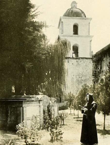 Three Wonderlands of the American West - The Cemetery Garden, Santa Barbara Mission, California (1912)