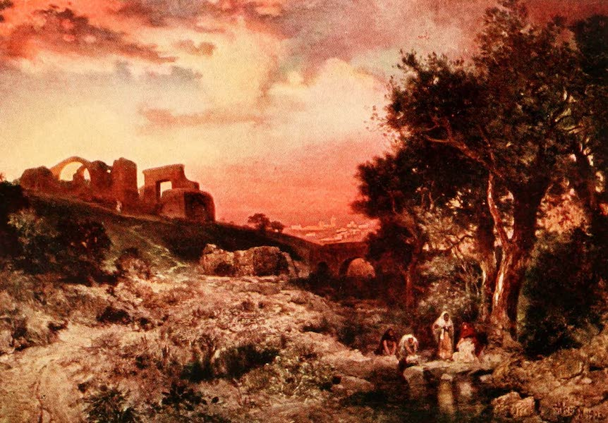 Three Wonderlands of the American West - Sunrise on Ruins at Cuernavaca, Old Mexico. (1912)