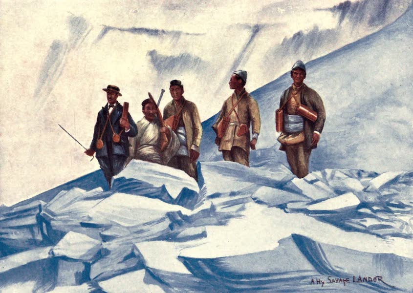 Tibet and Nepal, Painted and Described - A. Henry Savage Landor and the Four Men who accompanied him on his Ascent to 23,490 feet above Sea-Level (1905)