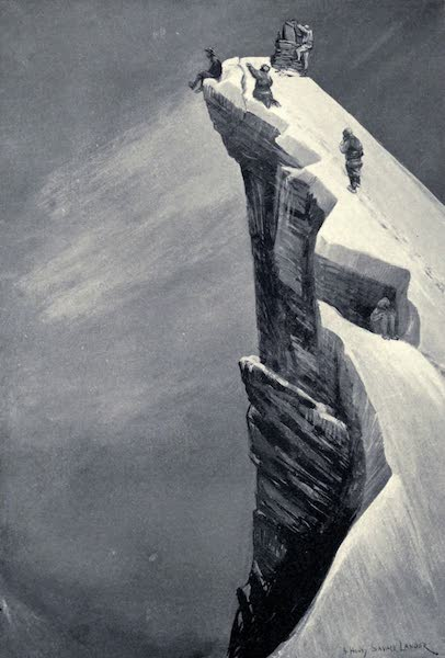 Tibet and Nepal, Painted and Described - The Highest Mountain Altitude ever reached by a Human Being (1905)