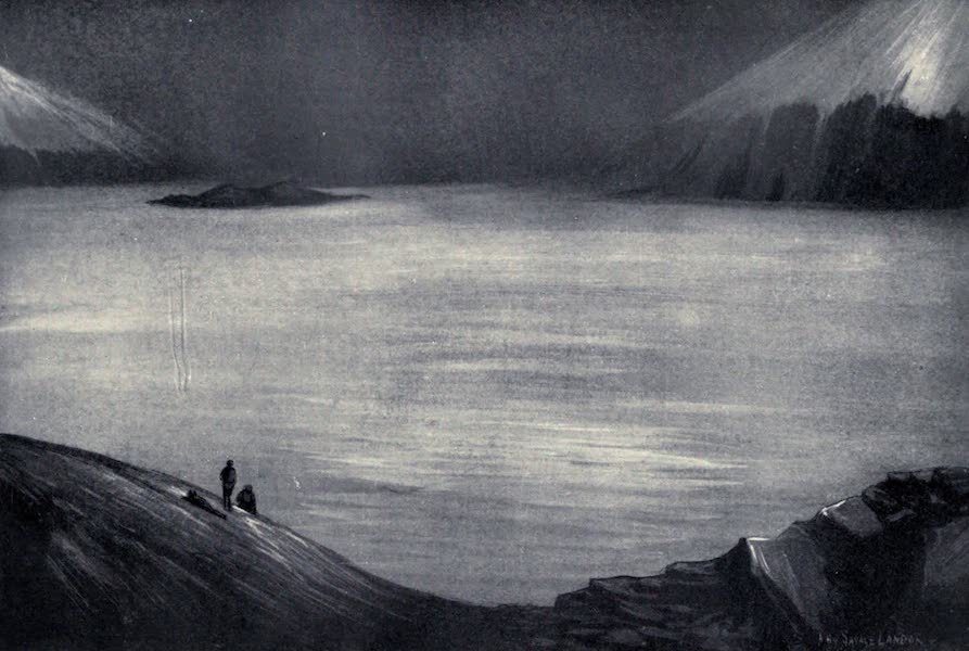Tibet and Nepal, Painted and Described - A Sea of Mist (1905)