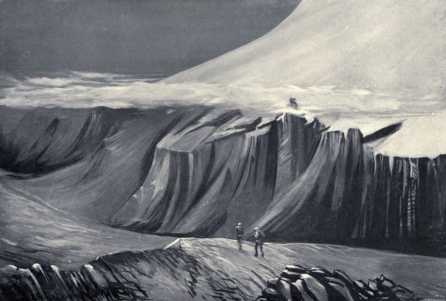 Tibet and Nepal, Painted and Described - Clouds forming on the Snow-Line (1905)
