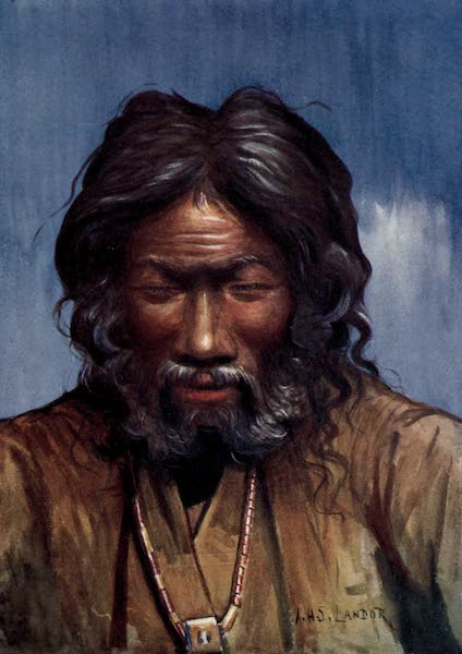 Tibet and Nepal, Painted and Described - A Picturesque Old Fellow (1905)