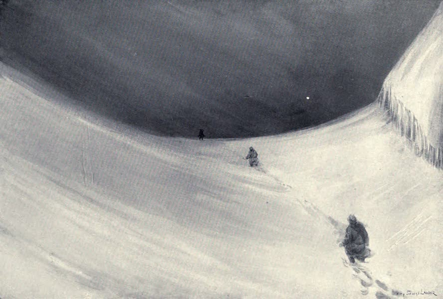 Tibet and Nepal, Painted and Described - Over a Pass in a Coming Storm (1905)
