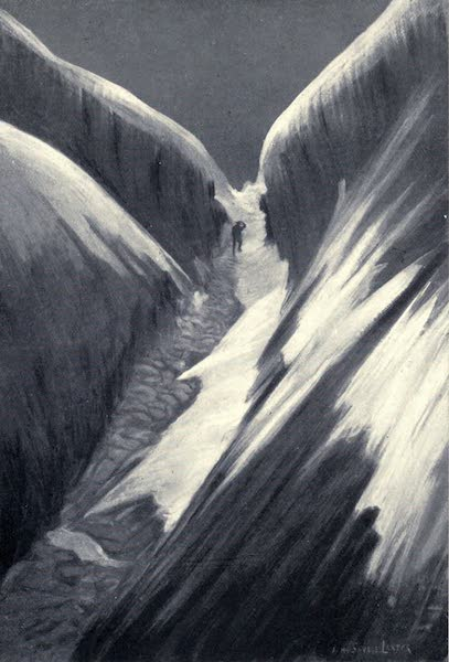 Tibet and Nepal, Painted and Described - Ascent to the Nui Pass (1905)