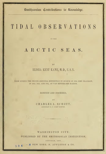 Novaya Zemla - Tidal Observations in the Arctic Seas