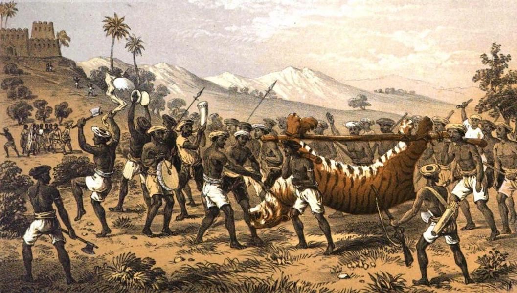 Tiger-Shooting in India - Bringing Home the Jaat Man-Eater in Triumph (1857)