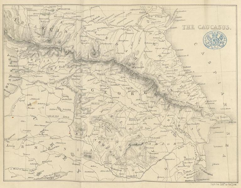 Transcaucasia. Sketches of the Nations and Races - The Caucasus (1854)
