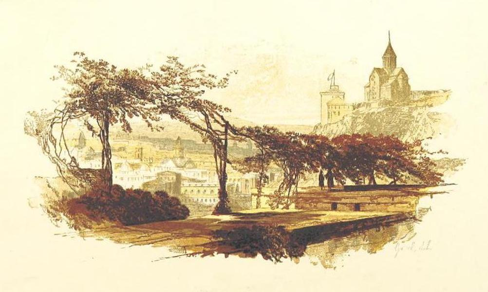 Transcaucasia. Sketches of the Nations and Races - View of Tiflis (1854)
