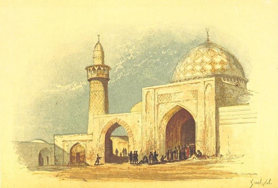 Transcaucasia. Sketches of the Nations and Races - The Great Mosque at Erivan (1854)