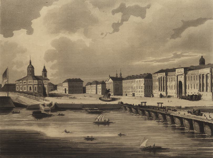 Travelling Sketches in Russia and Sweden Vol. 1 - The Palace of St. Issac (1809)