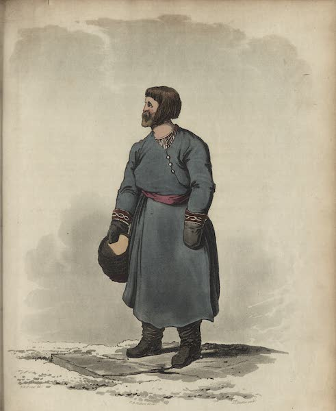 Travelling Sketches in Russia and Sweden Vol. 1 - A Russian Tradesman (1809)