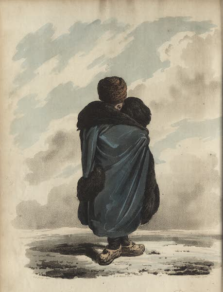 Travelling Sketches in Russia and Sweden Vol. 1 - A Gentleman in His Winter Walking Dress (1809)
