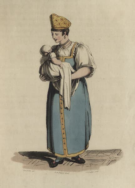 Travelling Sketches in Russia and Sweden Vol. 1 - A Russian Nurse (1809)