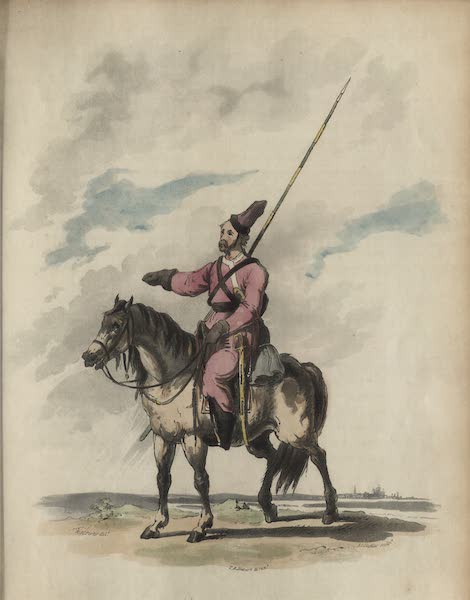 Travelling Sketches in Russia and Sweden Vol. 1 - Un Uralsky Cossac (1809)