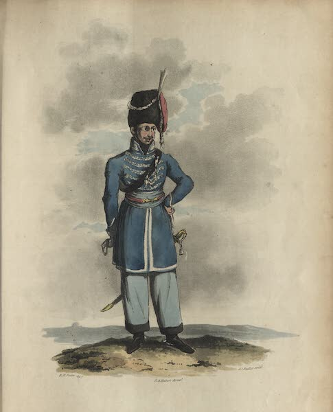 Travelling Sketches in Russia and Sweden Vol. 1 - An Officer of the Donsky Cossacs (1809)