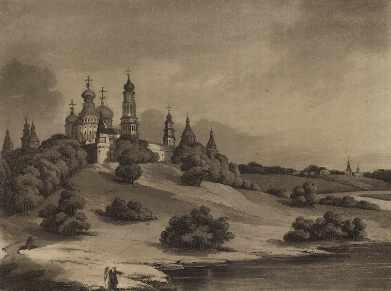 Travelling Sketches in Russia and Sweden Vol. 1 - The Monastery of Voskresensky (1809)