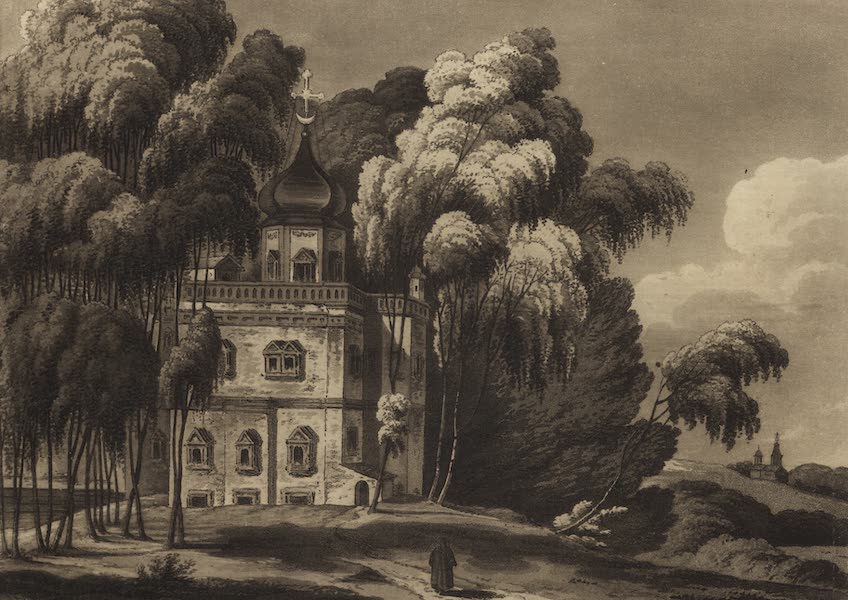 Travelling Sketches in Russia and Sweden Vol. 1 - Nichon's Hermitage (1809)